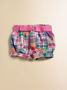 Ralph Lauren  Infant's Patchwork Shorts  $35