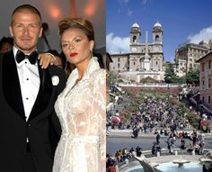 "Spotted: Victoria and David Beckham in Rome at Hotel Hassler. The Dish: The Hassler, at the top of the Spanish Steps, has major appeal to A-listers; in fact, the Beckhams were spotted leaving the hotel through a sea of  photographers while in town for the wedding of good friends Tom Cruise and Katie Holmes. Decorated with a rich tapestry of warm colors and furniture that reflects the hotel's early 20th-century birth, this ""posh"" hotel is the ideal Roman retreat for a discerning Spice…"