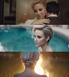 "WOW ... Dianna Agron's Hair From Sam Smith's ""I Am Not The Only One"" Music Video"
