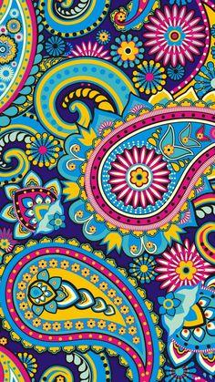 View: vera bradley images vb wallpapers hd wallpaper and background photos. Motif Paisley, Paisley Color, Paisley Art, Motif Floral, Paisley Design, Paisley Flower, Paisley Wallpaper, Pattern Wallpaper, Paisley Background