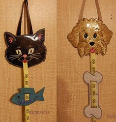 Hey, I found this really awesome Etsy listing at https://www.etsy.com/listing/183387750/ith-growth-measure-dog-cat-set-of-two