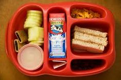 Lunch boxes that have multi compartments make it easy to add variety easily.