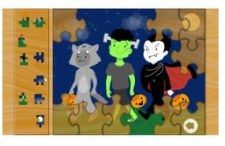 Halloween Kids Puzzle Game