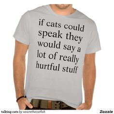 talking cats t-shirt