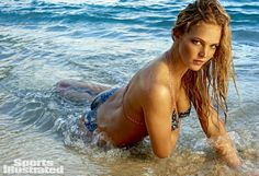 Erin Heatherton Swimsuit Body Paint