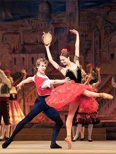 "lasylphidedubolchoi: ""Nina Kaptsova and Semyon Chudin in Bolshoi's Don Quixote Photo by Damir Yusupov """
