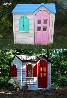 Redo Kids Play house DIY