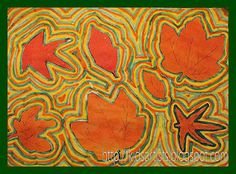 Outlined Autumn Leaves    mola?
