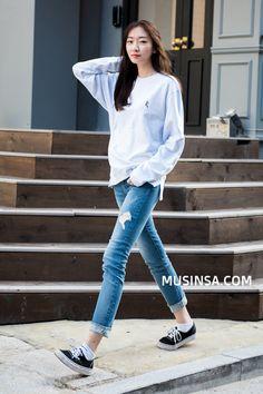 #MUSINSA street model style 2016