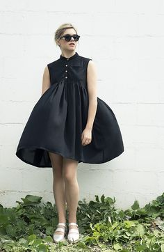 NEW Black Dress Loose Shirt Dress Holiday Cocktail Day Black Dress Spring Fashion Jade Dress - Black Dresses - Ideas of Black Dresses Jade Dress, Dress Me Up, Holiday Dresses, Spring Dresses, Holiday Outfits, Mode Inspiration, Mode Style, Mantel, Cute Dresses