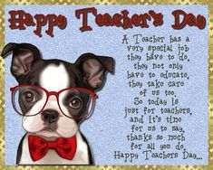 Appreciate your teacher on Teacher's Day with this cute card. Free online A Teacher Has A Special Job ecards on Teachers' Day Teachers Day Greetings, Happy Teachers Day, Your Teacher, Best Teacher, International Teachers Day, Teacher Awards, Teachers' Day, Grandparents Day, Feeling Special