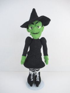 Ravelry: Wonderful World of Oz: Wicked Witch & Monkey pattern by Holly's Hobbies Hobbies For Girls, Hobbies To Take Up, Fun Hobbies, Cheap Hobbies, Halloween Doll, Halloween Crochet, Hobby Shops Near Me, Hobby World, Hobby Cnc