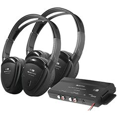 Power Acoustik HP902R Feet POWER ACCOUSTIC 2  SWIVEL 2CH. WIRELESS Power Acoustik http://www.amazon.com/dp/B001584QQU/ref=cm_sw_r_pi_dp_yl0-wb16V2ENQ Less expensive but a very good option for watching TV in the Yurt without disturbing others or nature