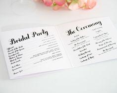 140 best wedding programs images wedding ceremony dream wedding