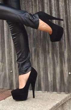 black shoes high heels pumps | My Style | Pinterest | Shoes high ...