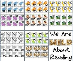 Wild About Reading - Reading Log Classroom Display - Cute way to display how many books kiddos have read.