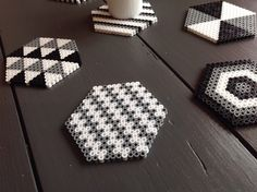 Blog parenthese creative LN diy dessous de verre perles hama