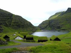Saksun, Faroe Islands. By T.K.V