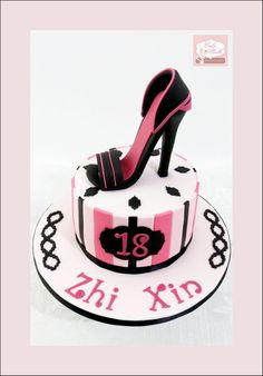 Fashionista Stiletto Cake