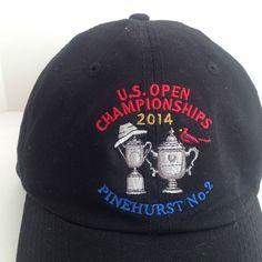 8bf4841db15 US Open 2014 Golf Championship Pinehurst No 2 BASEBALL CAP Hat USGA Member  New  USGA