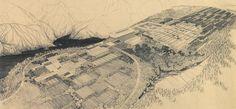 arthur erickson drawing - Google Search