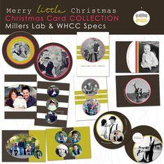 christmas cards - yellow & gray? :)