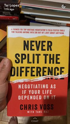 book Never Split the Difference negotiating as if your life depended on it Chris Voss Best Books To Read, Books To Buy, Good Books, Book Suggestions, Book Recommendations, Book Nerd, Book Club Books, Reading Lists, Book Lists