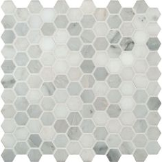 MS International Greecian White Hexagon 12 in. x 12 in. Polished Marble Mesh-Mounted Mosaic Floor and Wall Tile-GRE-1HEXP at The Home Depot