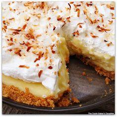 The Dutch Baker's Daughter: Coconut Cream Pie