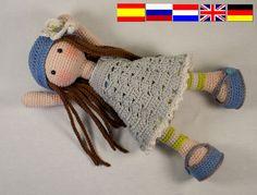 Patrón muñeca LILLY en español
