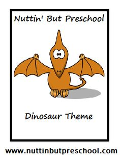 » Dinosaur Theme Nuttin' But Preschool