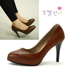 Buy 'MODELSIS – Genuine Leather Pumps' with Free International Shipping at YesStyle.com. Browse and shop for thousands of Asian fashion items from South Korea and more!