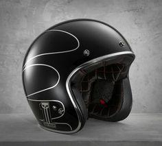 78014 - Elite Retro 3/4 Helmet