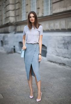 Womens fashion for work casual chic classy ideas for 2019 Fashion Mode, Work Fashion, Fashion Outfits, Womens Fashion, Fashion Trends, Cheap Fashion, Style Fashion, Fashion Styles, Latest Fashion