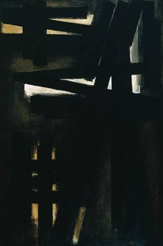 Pierre Soulages Abstract Artist Associated with Art Informel Style of European Abstract Expressionism Tachisme, Abstract Painters, Abstract Art, Portland, Modern Art, Contemporary Art, Art Informel, Tate Gallery, Wow Art
