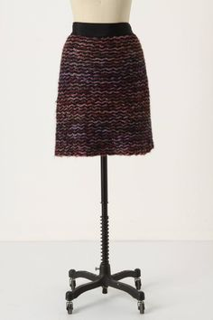 Anthropologie Violet Vibrations Skirt Size 2, Purple Pencil By Knitted & Knotted #KnittedKnotted #StraightPencil