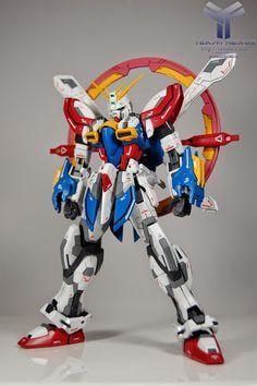 "MG 1/100 God Gundam ""Evolve"" Custom Build - Gundam Kits Collection News and Reviews"