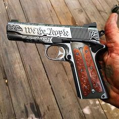 Jesse James custom 1911 Save those thumbs & bucks w/ free shipping on this magloader I purchased mine http://www.amazon.com/shops/raeind   No more leaving the last round out because it is too hard to get in. And you will load them faster and easier, to maximize your shooting enjoyment.