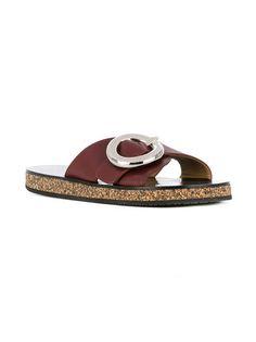Joseph round buckle sandals