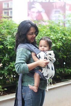 Soul Slings Meh Dai Full Moon on Grey - Little Zen One babywearing canada usa free shipping