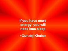 Have more time to do more with more energy.