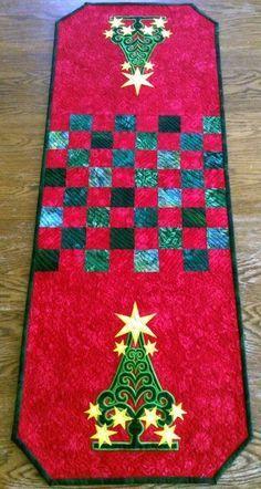 Christmas Tree Tablerunner Advanced Embroidery Designs Christmas