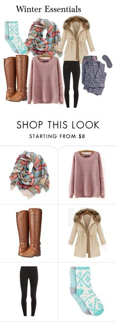 """My Winter Essentials"" by nursalihah-young on Polyvore featuring Madden Girl, Splendid, Free Press and Victoria's Secret"