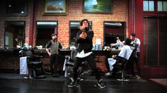Meghan Trainor - Lips Are Movin Les Twins Barber Shop Visit #BendtheRules great TB - happy Sunday to all with @officiallestwins ♥
