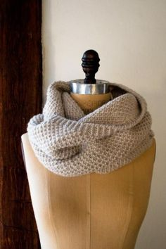Classic Cowl | free knit pattern from purl soho