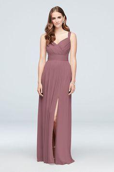 5f256632091b6 Sweetheart Tank Pleated Mesh Bridesmaid Dress