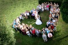 Awesome wedding pic that includes the whole group!