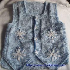 Örgü Cepken Yelek Modeli 2 Knit baby vest burada:http://www.marifetane.com/2013/01/orgu-cepken-yelek-modeli-2-knit-baby.html