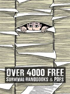 Over 4000 FREE Survival Handbooks & PDFs - I came across the mother load of all free survival PDFs and manuals. They are separated into categories so its super easy to browse and a nice easy layout. All are FREE and can be downloaded and saved to your computer.