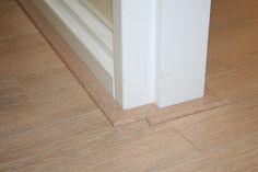 Afwerklijsten en plakplinten in de kleur van uw vloer. www.cavallo-floors.nl